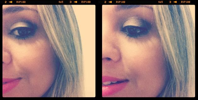 Dourado básico tutorial de maquiagem