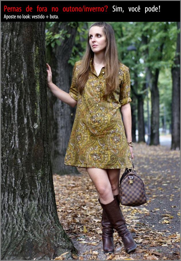 vestido1 Vestido + bota