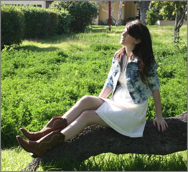 vestido2 Vestido + bota