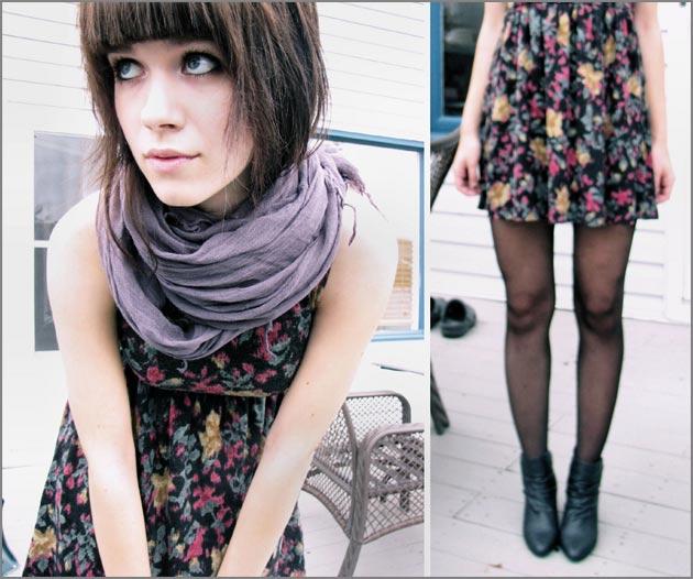 vestido5 Vestido + bota