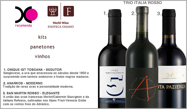 vinhos Combinação perfeita: Risotto e vinho!